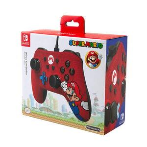 Wired Iconic Control para Nintendo Switch - Mario